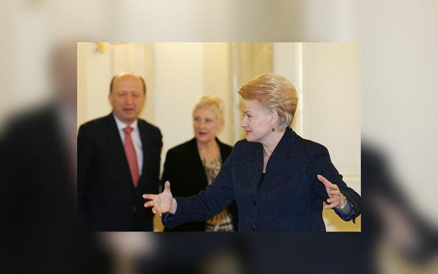 Dalia Grybauskaitė, Irena Degutienė ir Andrius Kubilius
