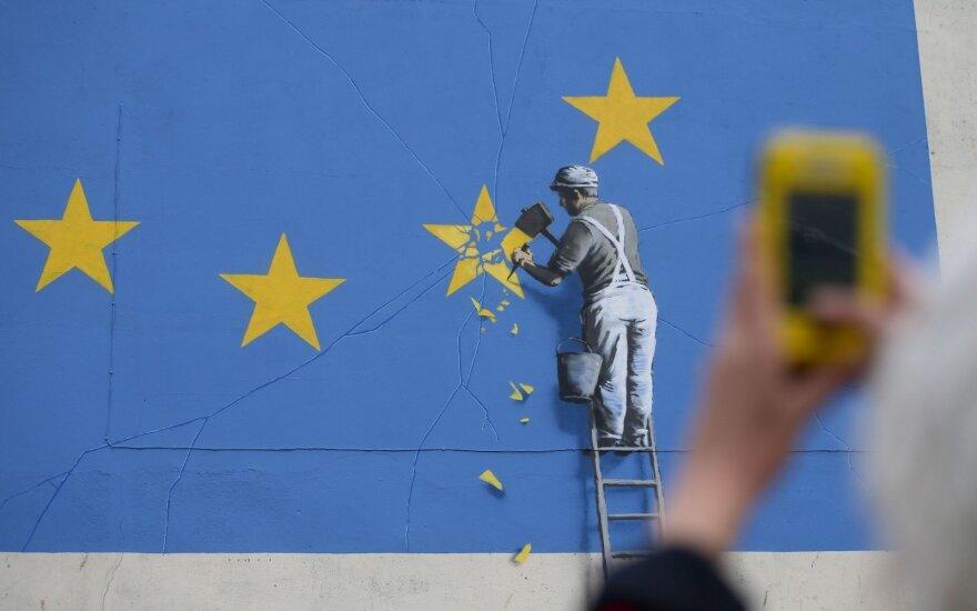 Banksy painting Brexit