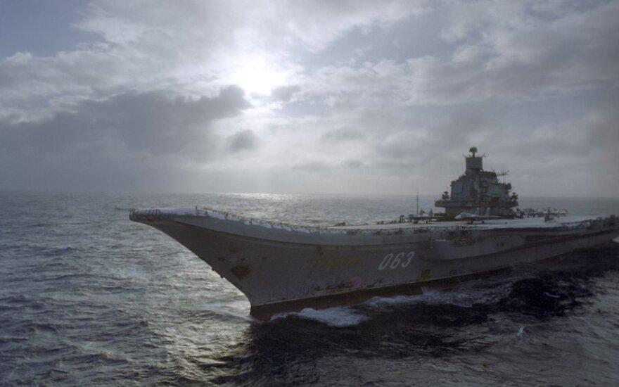 Fox News: российский истребитель разбился в Средиземном море