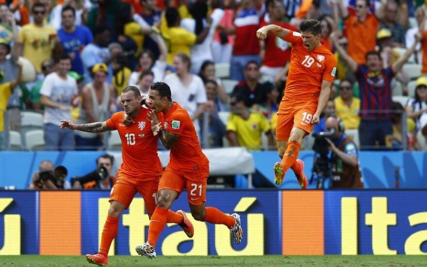 Pasaulio futbolo čempionato aštuntfinalis: Olandija – Meksika