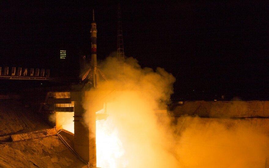 Sojuz TMA-17M pakilo iš Rusijos Baikonūro kosmodromo Kazachstane