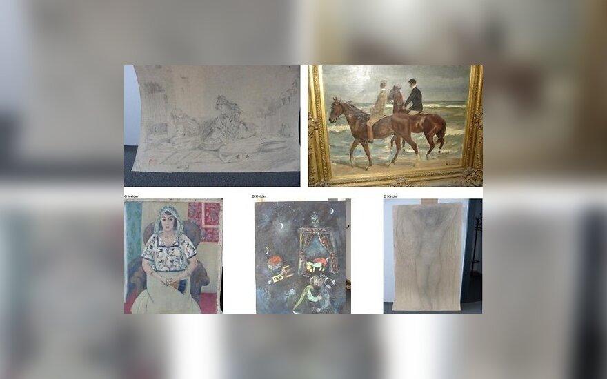 Германия опубликовала снимки найденных в Мюнхене картин модернистов