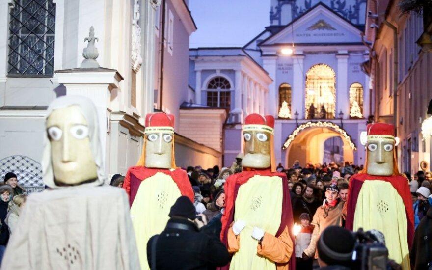 В Вильнюсе прошло шествие по случаю Богоявления