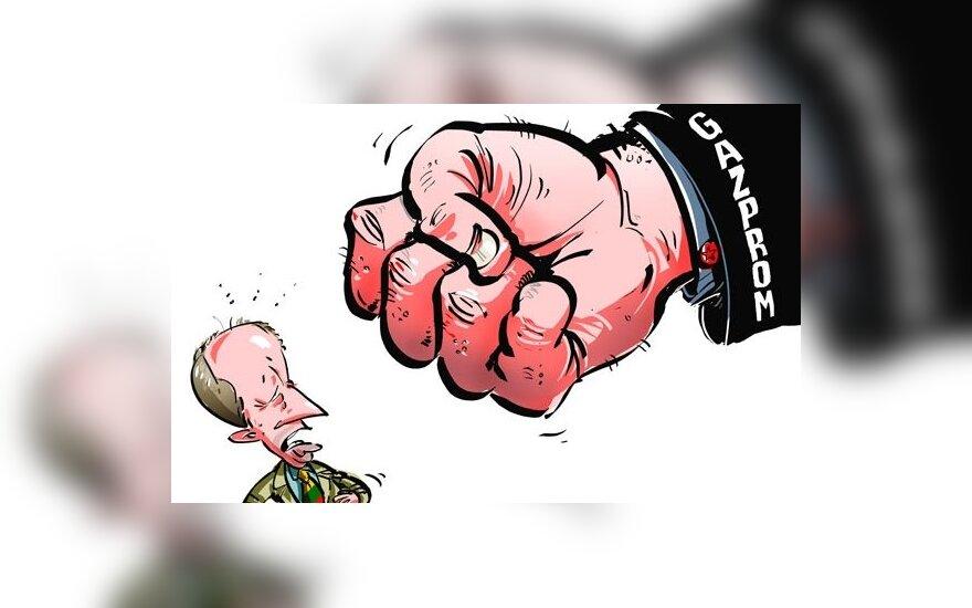 """Премьер: действия """"Газпрома"""" – попытка повлиять на членов Сейма"""