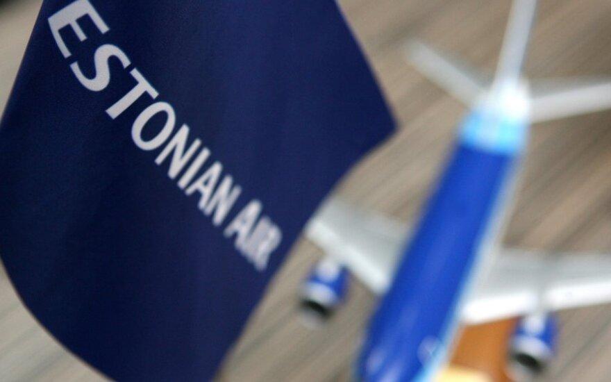 Estonian Air возвращает маршрут Таллинн - Вильнюс