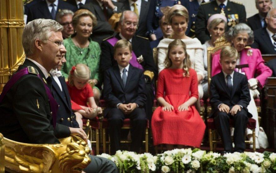 Prisiekė naujasis Belgijos karalius Philippe'as