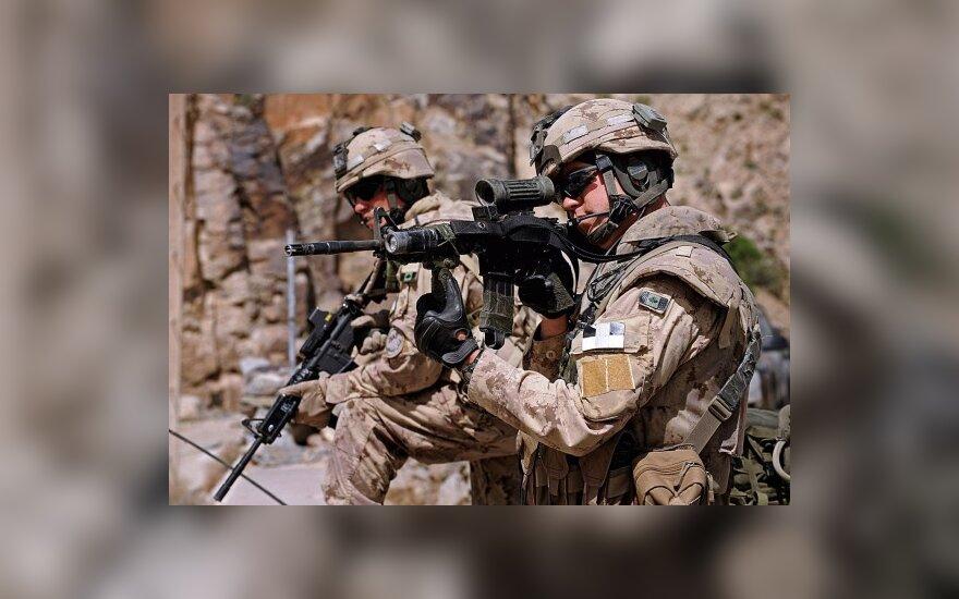 В Афганистане убито восемь военных США