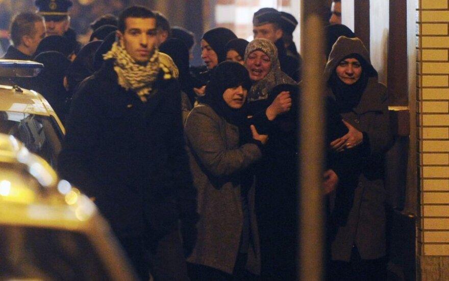 Briuselyje padegus šiitų mečetę žuvo jos imamas