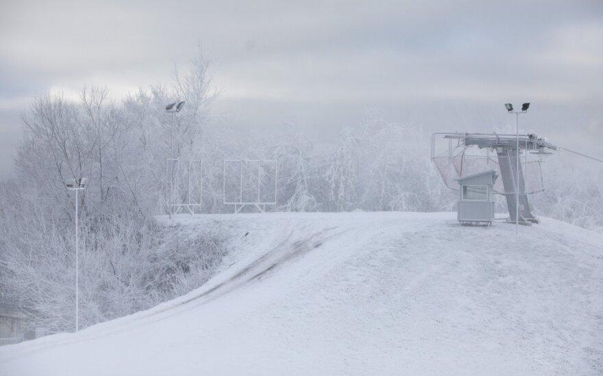 Синоптики: в Литве ожидается сильный снегопад