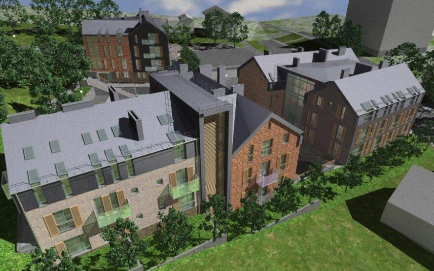 В Ужуписе строят квартал новых домов