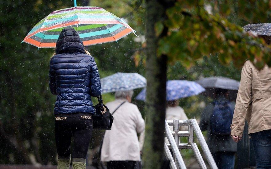 Погода: в Литву придет сырая и пасмурная осень