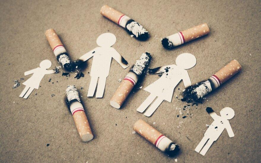 60 пачек сигарет на одного жителя Литвы: цифры стали меньше