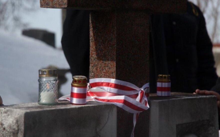 На кладбище Расу вспоминали подписантов акта независимости БНР