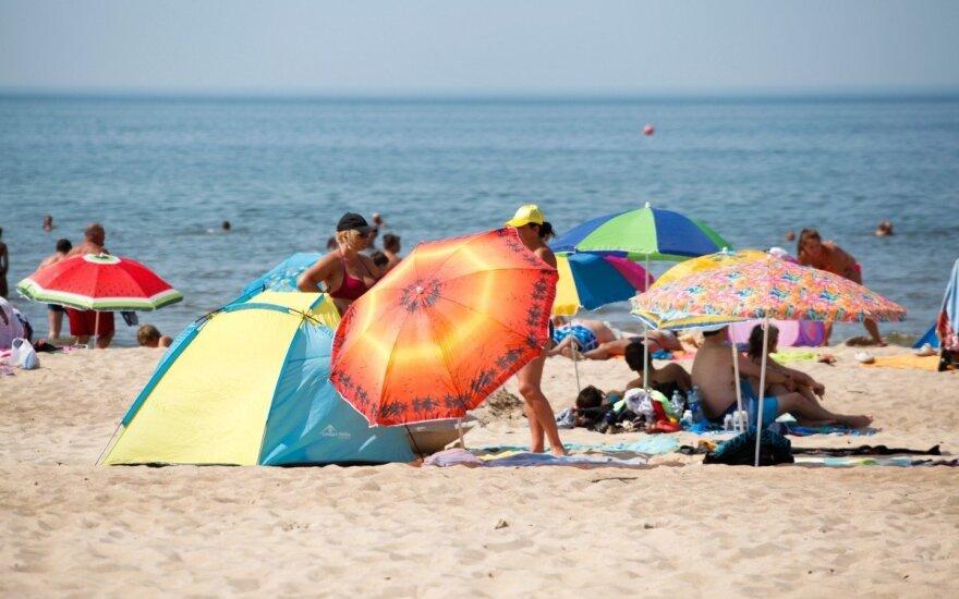 В выходные в Литве ожидается знойная погода