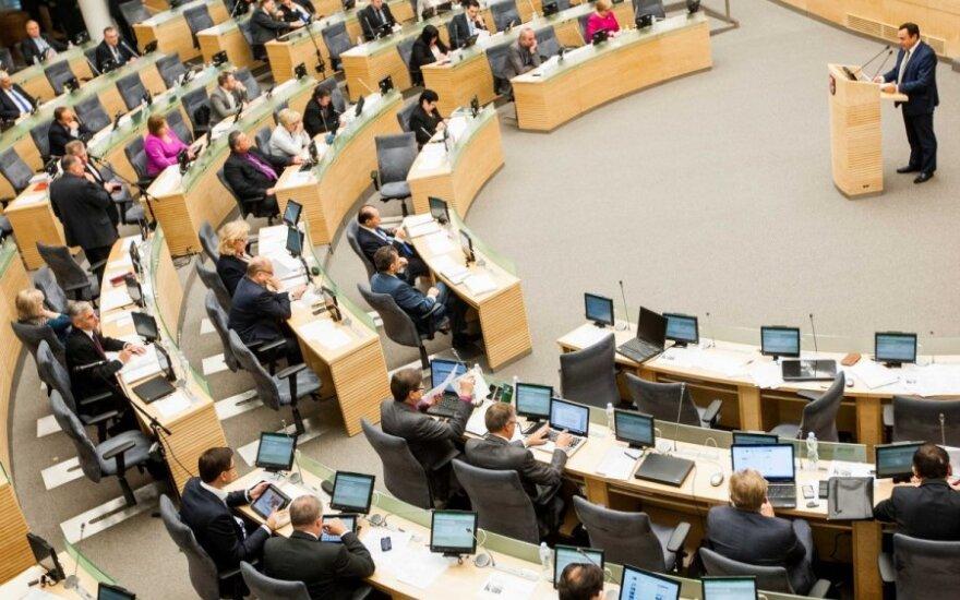 Группа депутатов предлагает сократить число парламентариев в Литве до 101