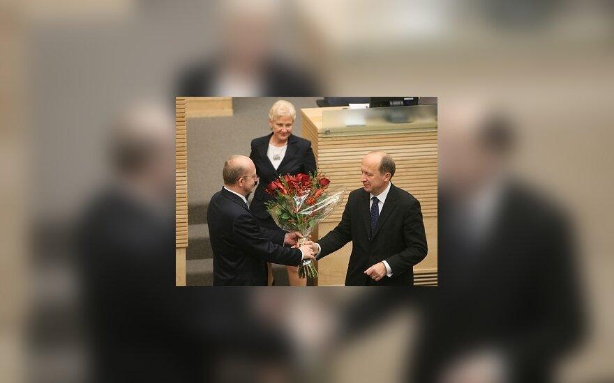 Президент назначил А.Кубилюса премьер-министром
