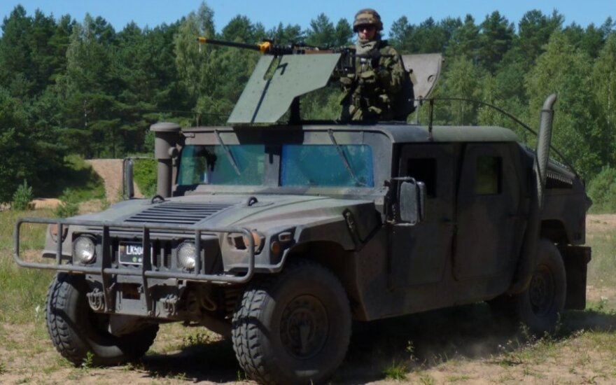 Na litewskim poligonie amerykańscy żołnierze postrzelili mężczyznę