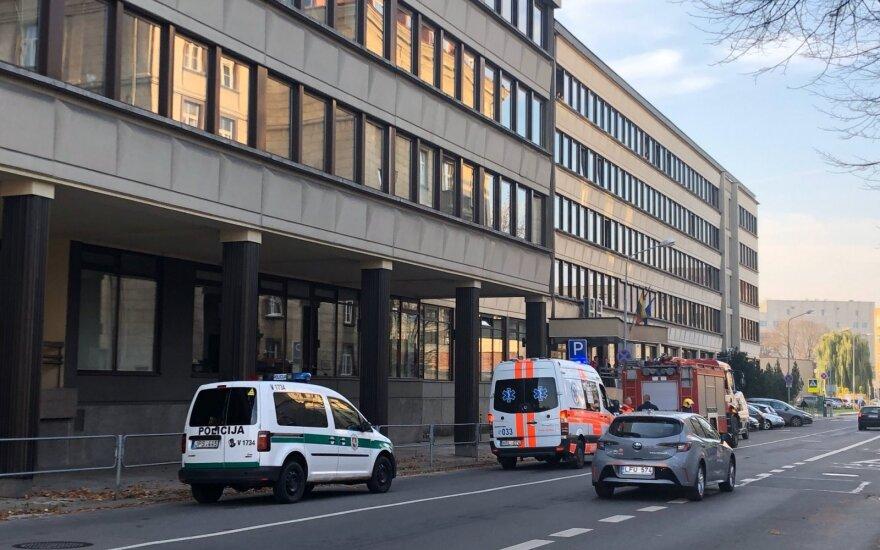 В центре Вильнюса прогремел взрыв, полиция останавливала движение на улице