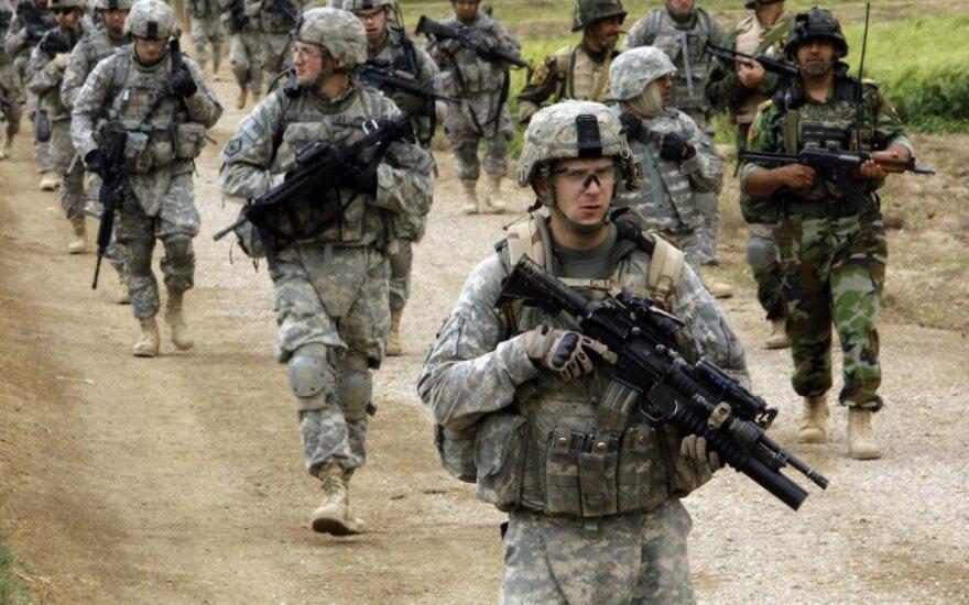 В субботу в Литву прибудут американские военные
