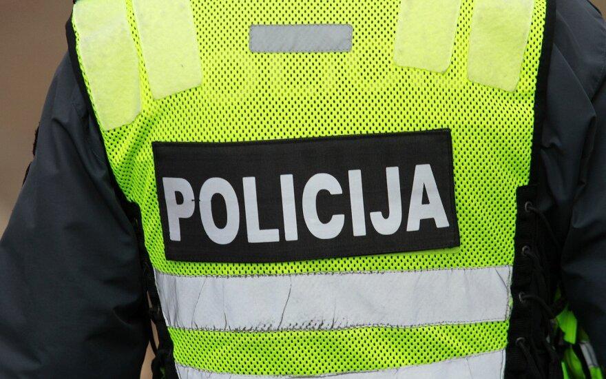 В Шяуляй женщина-полицейский стала причиной аварии