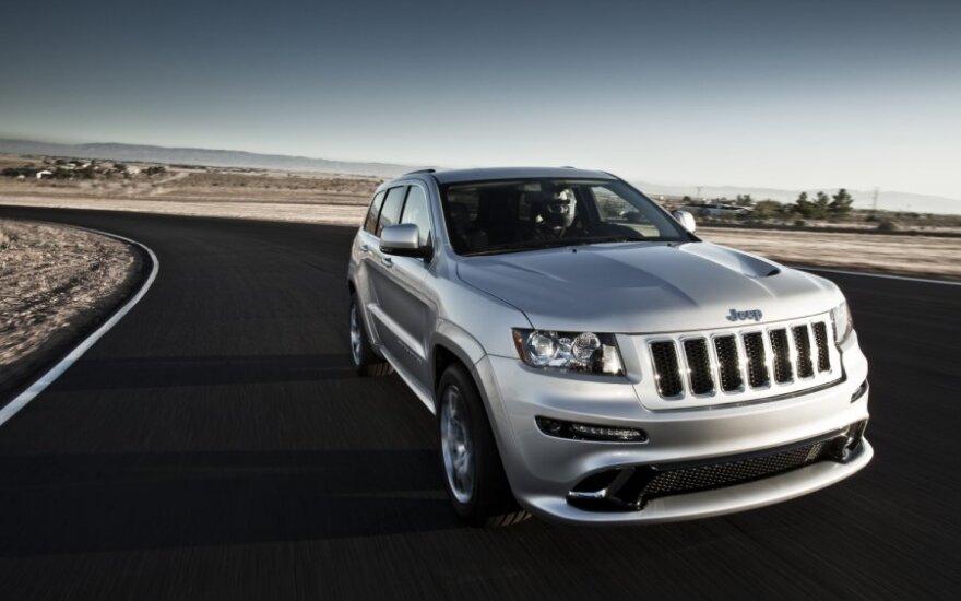 Шпионы застукали обновленный Jeep Grand Cherokee