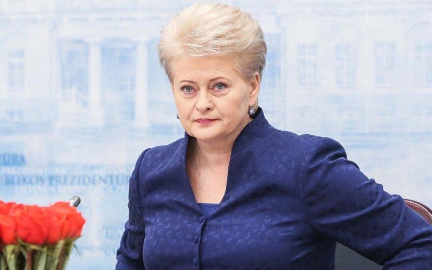 """Грибаускайте: глава внешней политики ЕС не может занимать """"противоречивую позицию"""" по Украине"""
