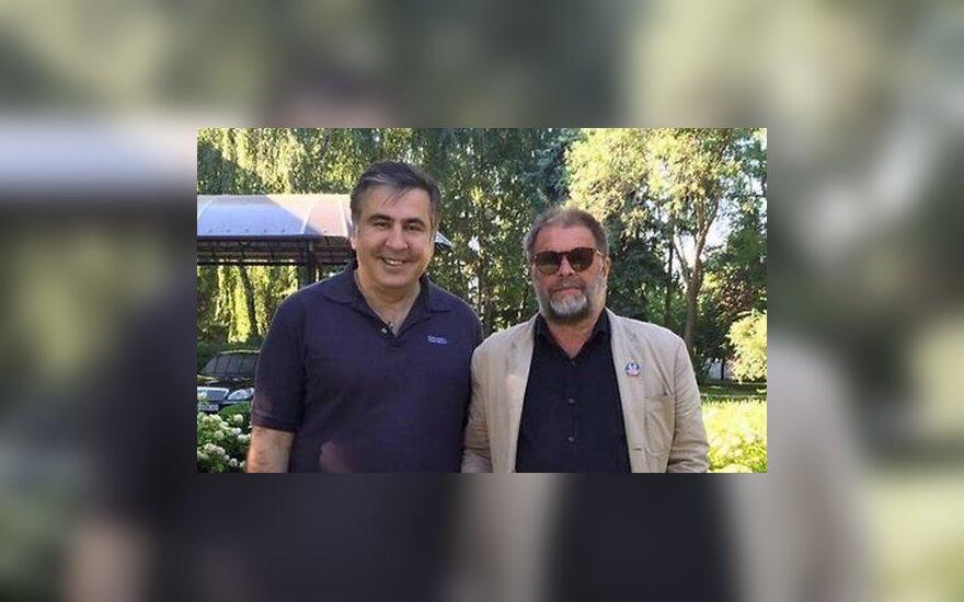 Борис Гребенщиков встретился с Саакашвили