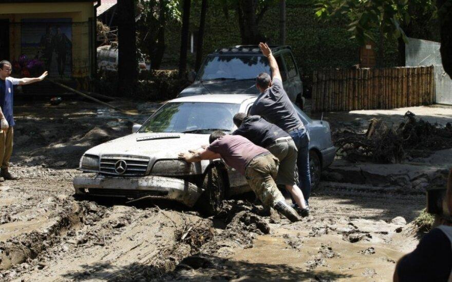 Тбилиси после наводнения: скорбь и невиданная солидарность