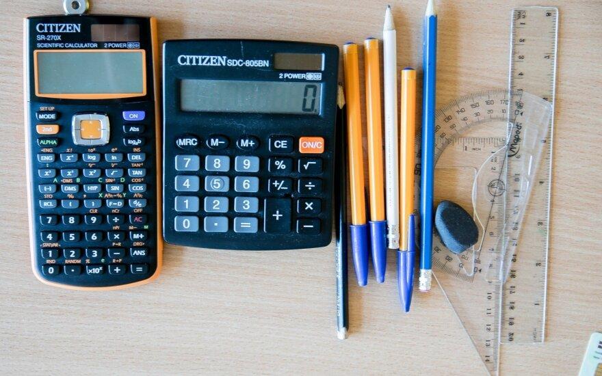 Достижения литовских школьников по математике оставляют желать лучшего