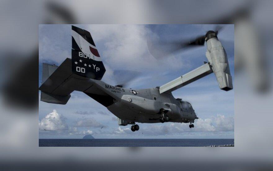 На Гавайях разбился конвертоплан ВМС США