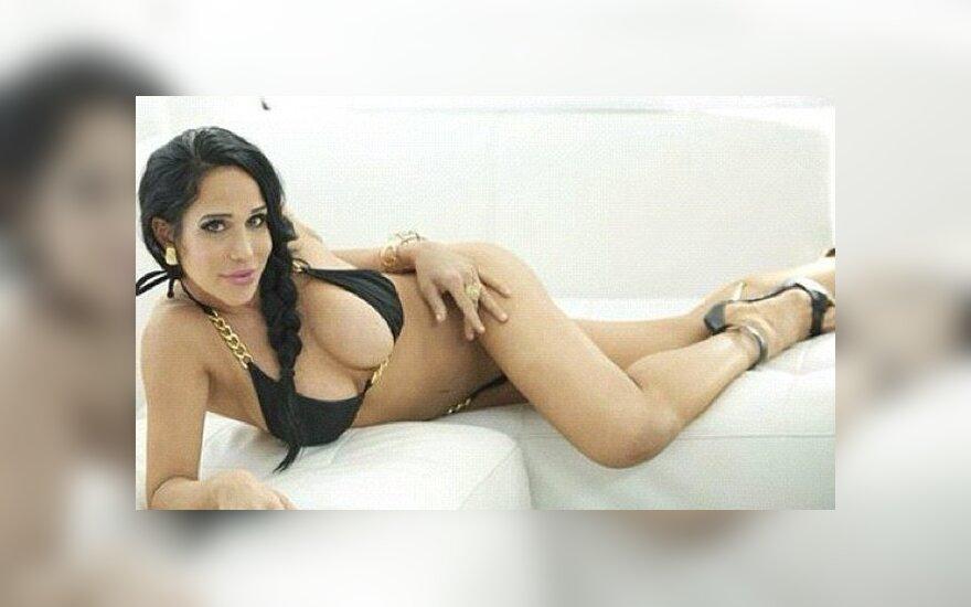 Nadya Suleman. Twitter.com nuotr.