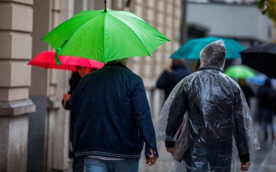 Погода: дождь ожидается на протяжении всей недели