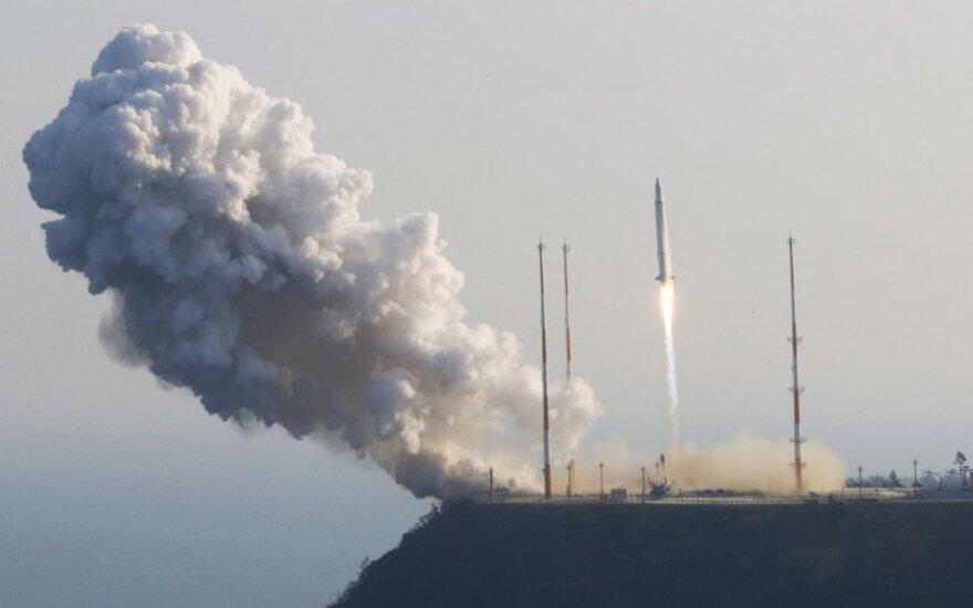 Южная Корея вывела на орбиту искусственный спутник