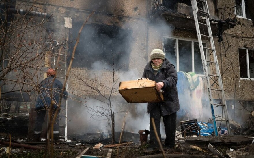 Сбежавшая из Донецка в Клайпеду Галина: внучка сказала, что не хочет умирать