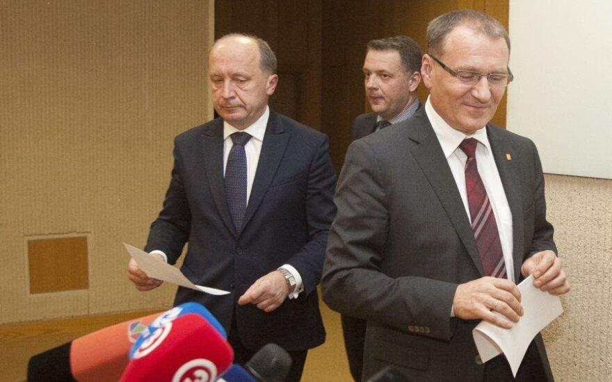 Andrius Kubilius, Eligijus Masiulis, Algis Čaplikas