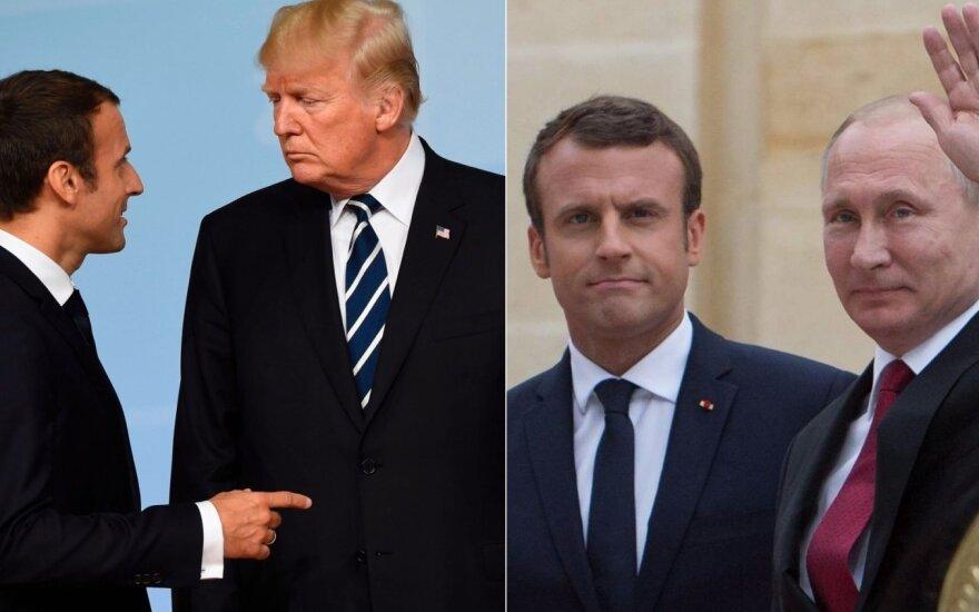 В Кремле не ждут полноформатной встречи Путина и Трампа в Париже