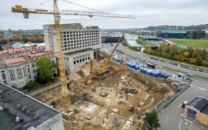 Строители недвижимости обращают свой взор на Каунас