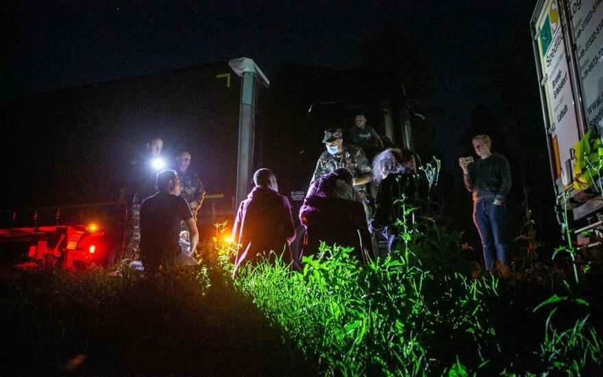 Литва: нелегальных мигрантов возвращают в Беларусь, возможность применения силы зависит от ситуации