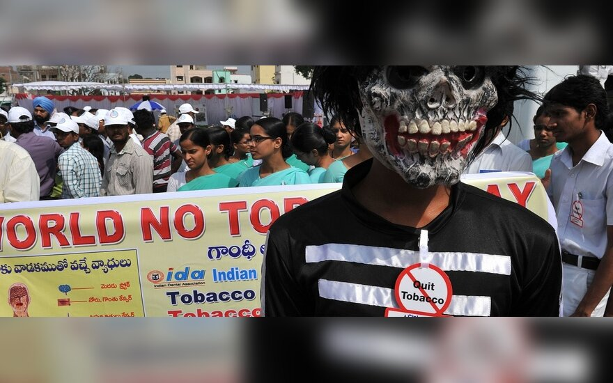 В Индии - акция против курения
