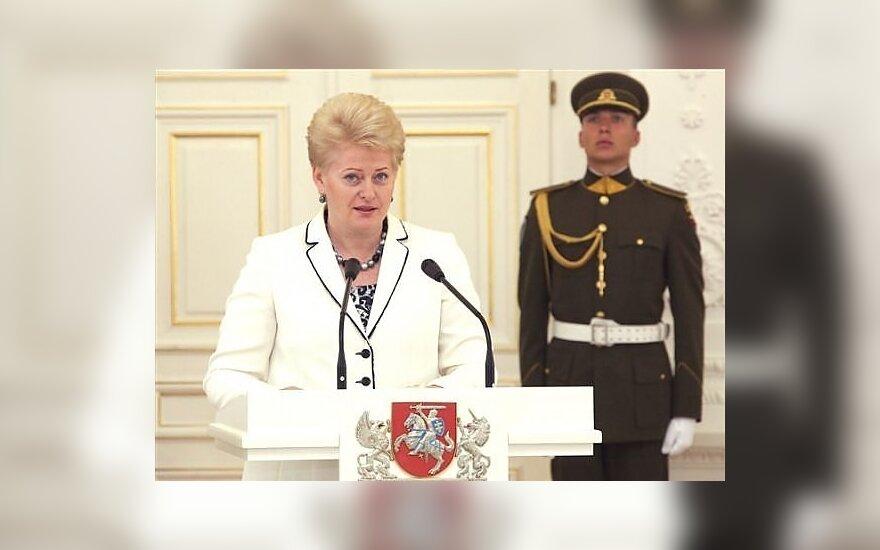 Dalia Grybauskaitė (Prezidentūros nuotr.)