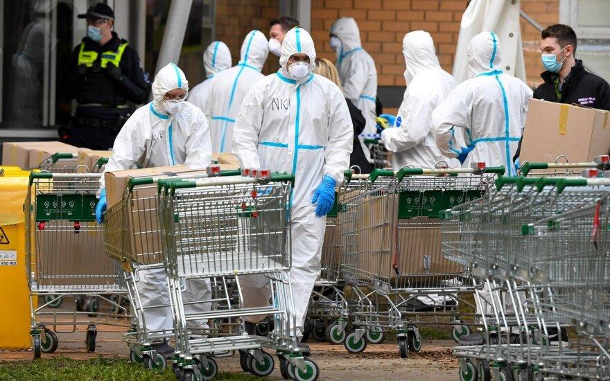 В Литве зарегистрировано 15 новых случаев коронавируса