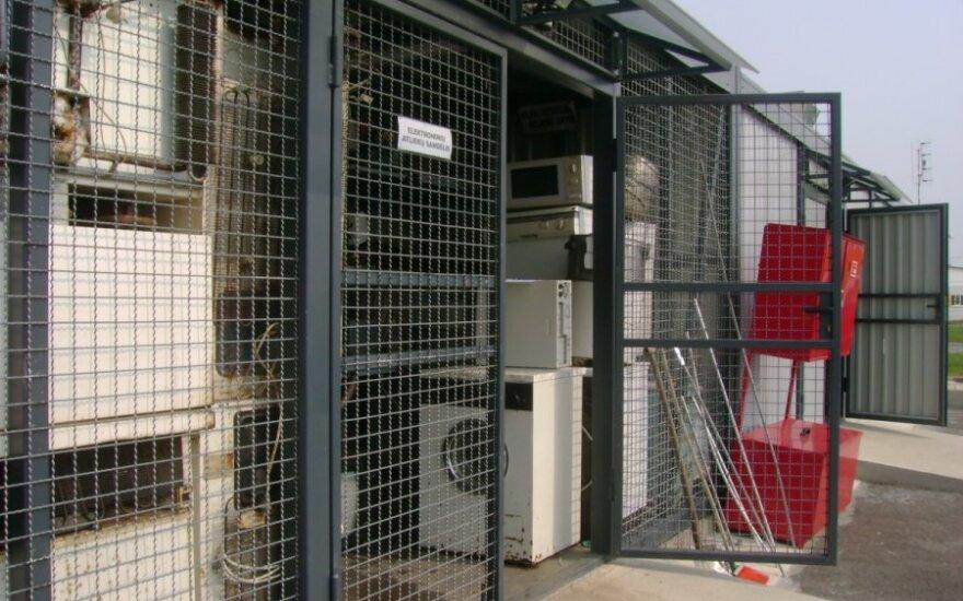 Pasvalio elektronikos pridavimo aikštelė