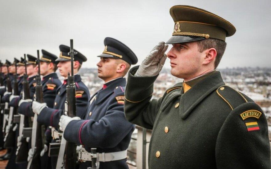 В Каунасе отметили столетие первой присяги армии Литвы