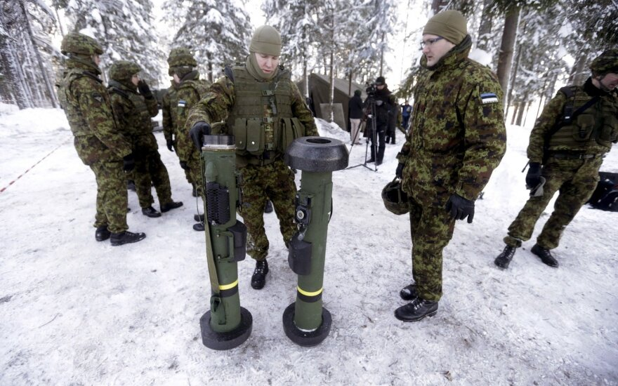 В Эстонии на военном полигоне трагически погибла женщина-офицер