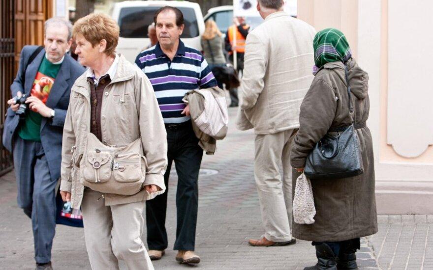 Большинство жителей Литвы не знают дату своего выхода на пенсию