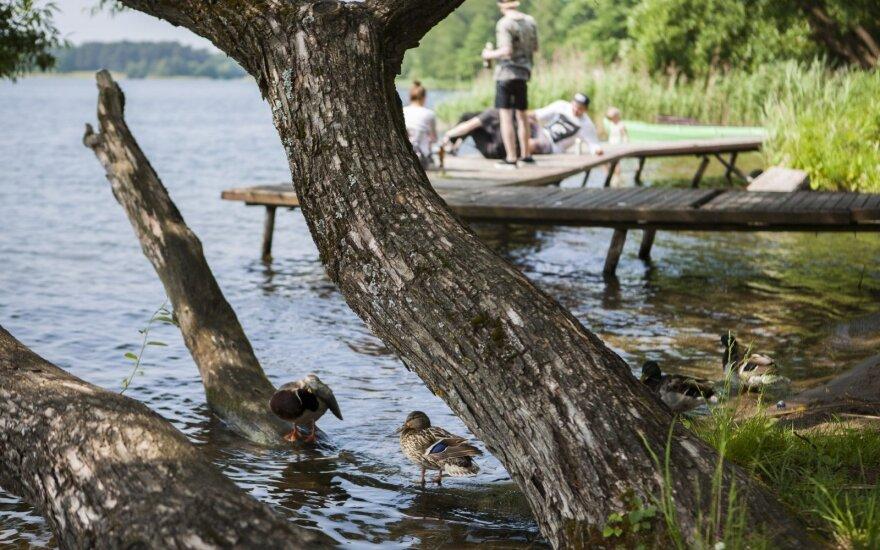 В Литву снова идет жара: специалисты предупреждают купальщиков