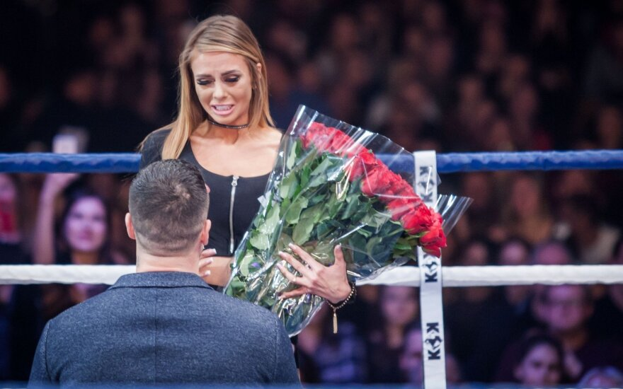 Simonai Katevaitei mylimasis pasipiršo bušido ringe