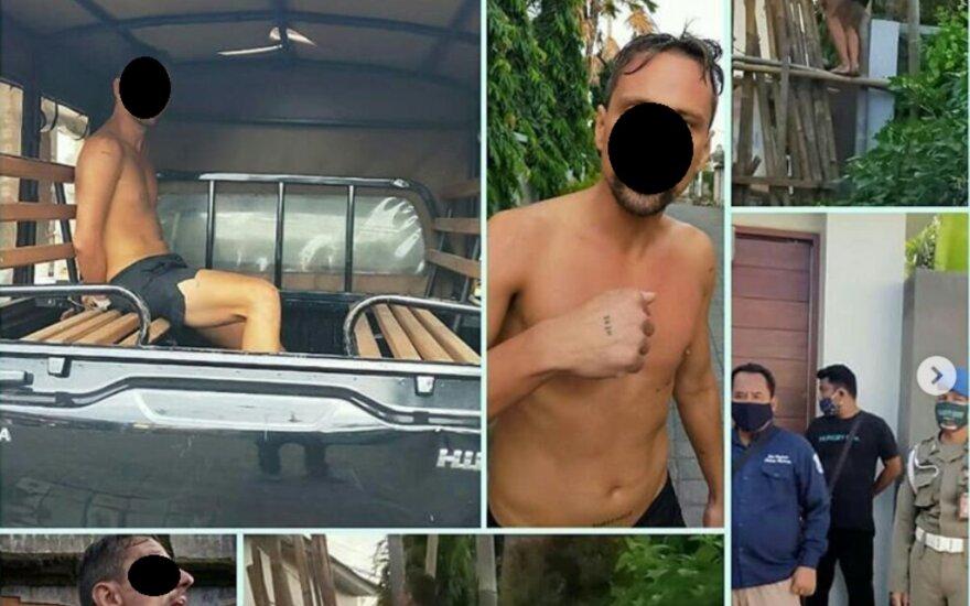 СМИ на Бали рассказали о странном поведении гражданина Литвы