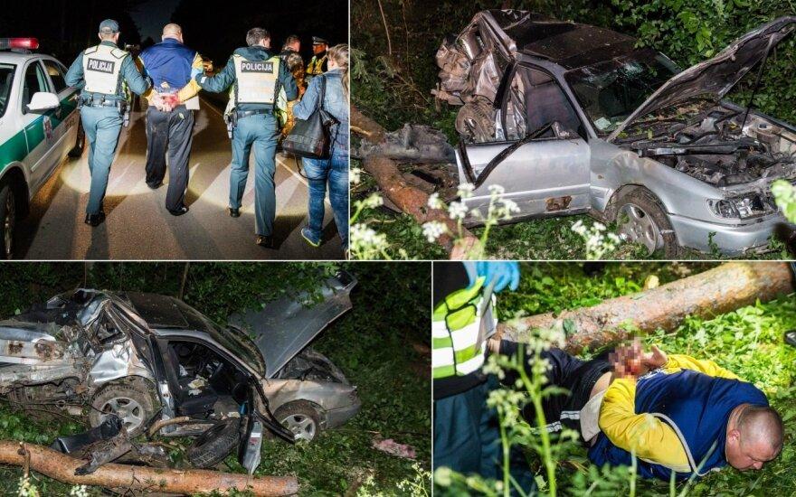 Трагическое ДТП в Вильнюсском районе: один человек погиб