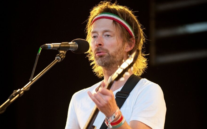 "Thom Yorke,  grupė ""Radiohead"""